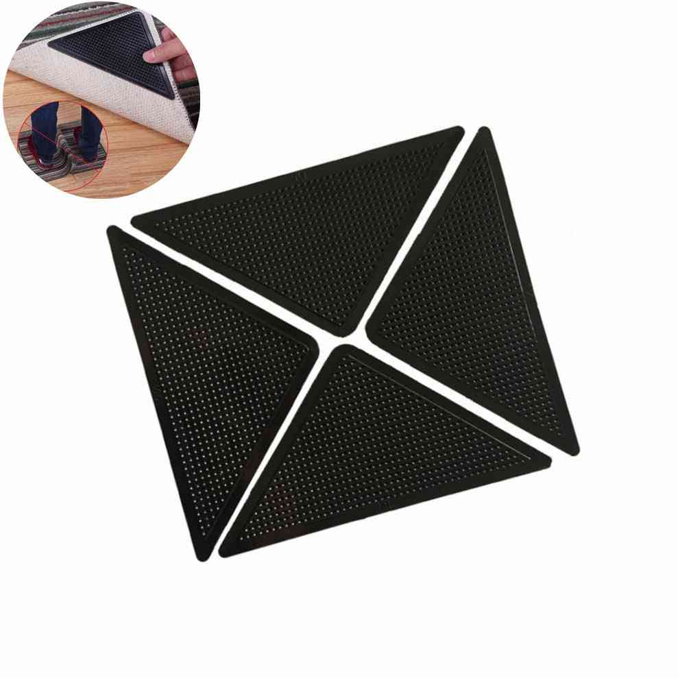 Self-adhesive Anti-slip Floor Rug And Carpet Mat For Home - Tri Sticker Reusable And Washable