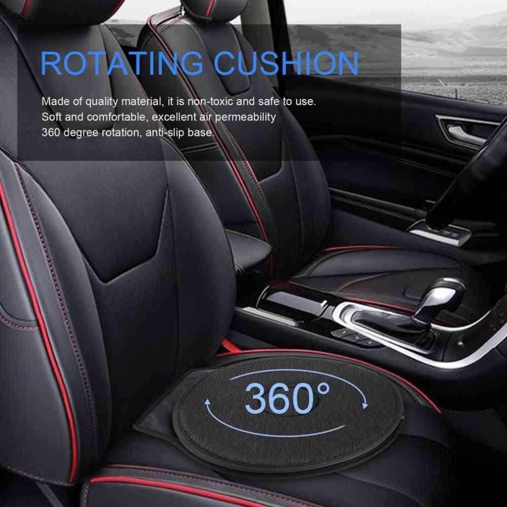 360 Degree Rotation Cushion Car Mats - Chair For Elderly Pregnant Woman