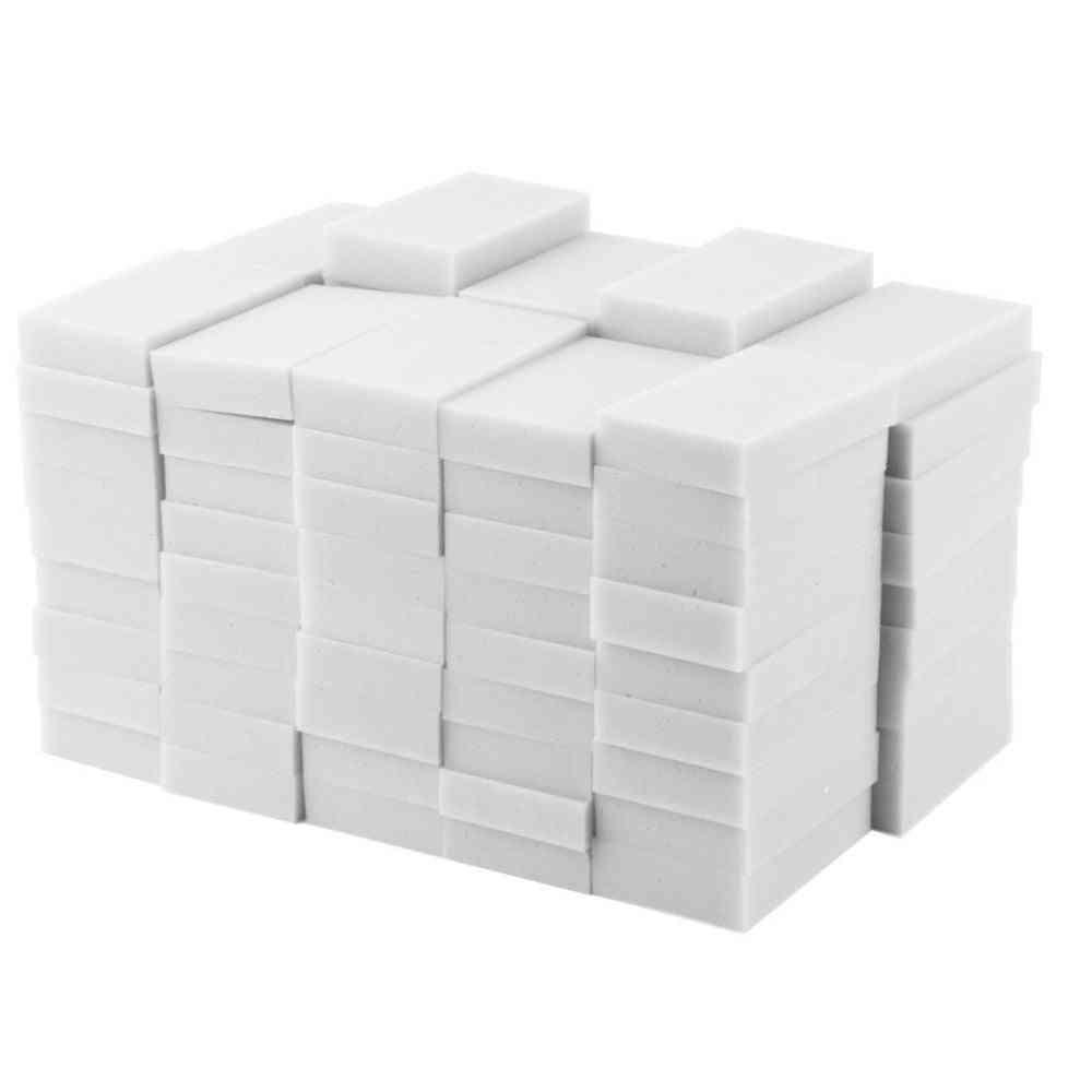 Multi Functional White Magic Sponge, Cleaner, Eraser, Sponge For Kitchen & Bathroom
