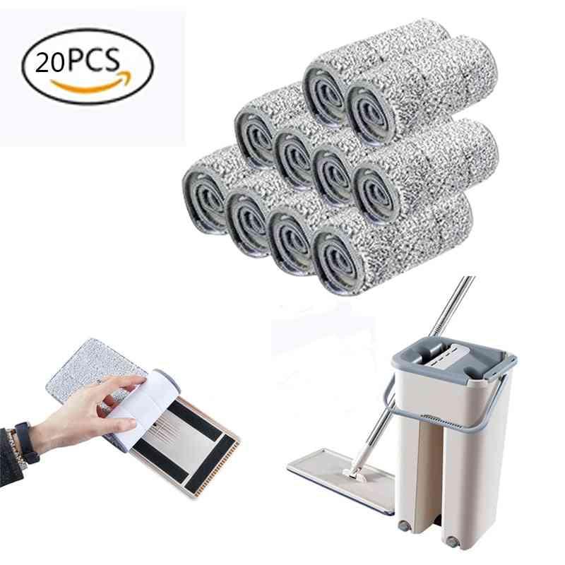 Microfiber Floor Mop Cloth - Self Wet And Dry Cleaning Paste Mop For Home Floor & Bathroom