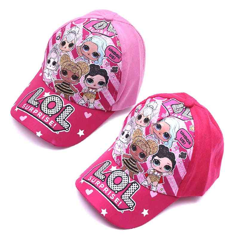 Surprise Cartoon Hat - Baseball Cap For Birthday Party Theme - For Kids