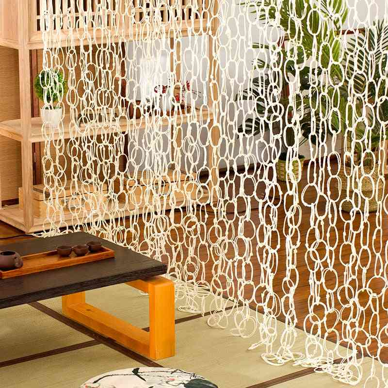 Bamboo And Rattan Handicraft Hanging Straw Curtains