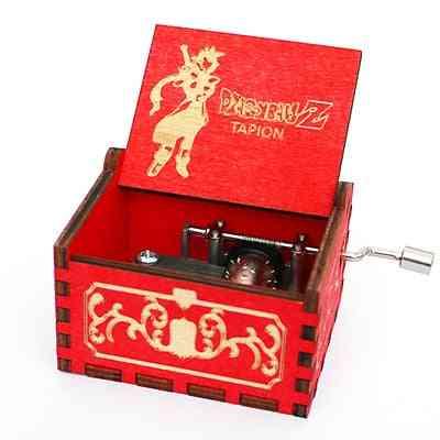 Dragon Ball, Z-tapion Theme-hand Crank Wood Musical Box