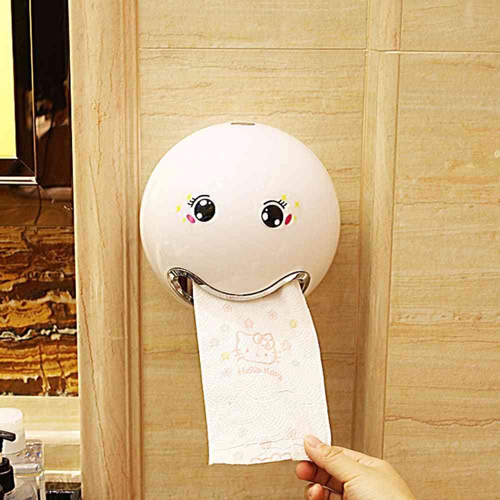 Creative Cartoon, Ball Shaped Sanitary Roll Paper Storage Box