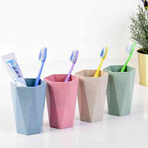Eco Friendly And Portable Toothbrush Holder Cup