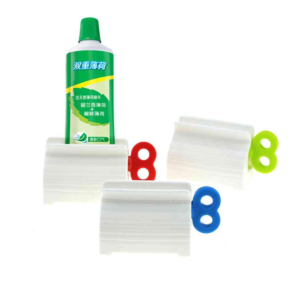 Multi Function Toothpaste Squeezer - Manual Clip For Bathroom