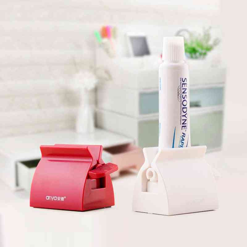 Toothpaste Tube Holder And Squeezer