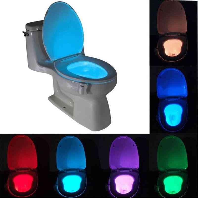 Smart Toilet Seat Led Nightlight-auto-sensing System