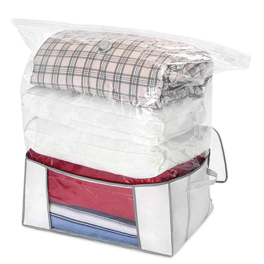 Large Capacity Vacuum Bag For Household Comforters, Quilts, And Blankets