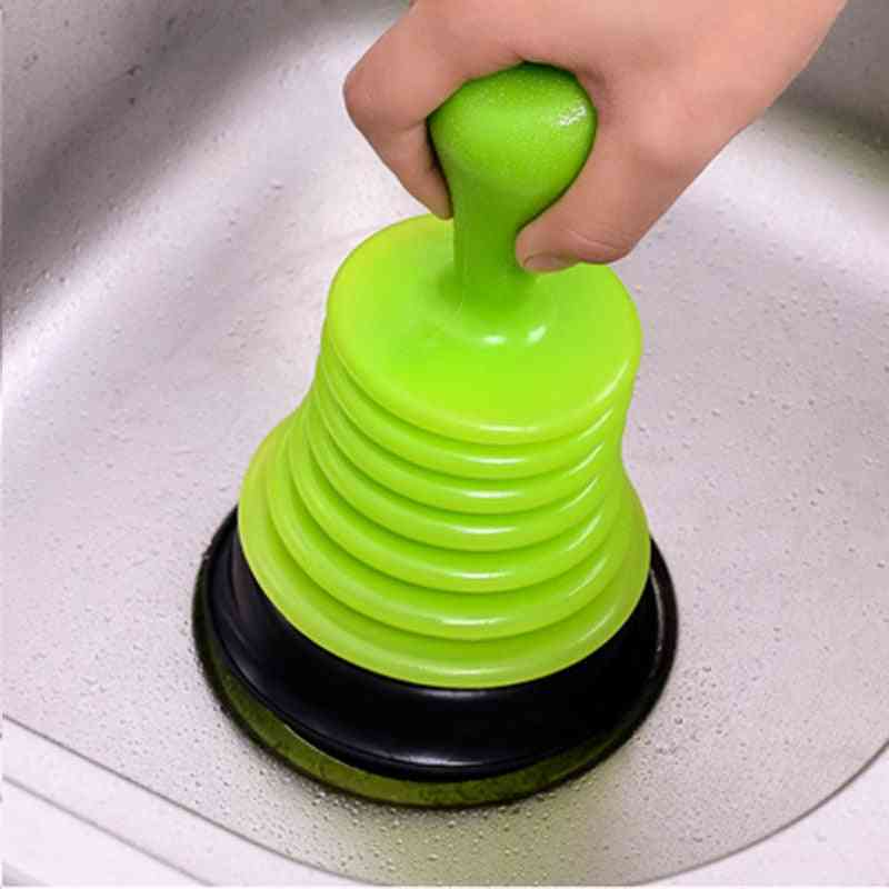 Family Sink Pipeline Drain Dredger Cup , Cleaners Suction Plunger For Toilet, Kitchen