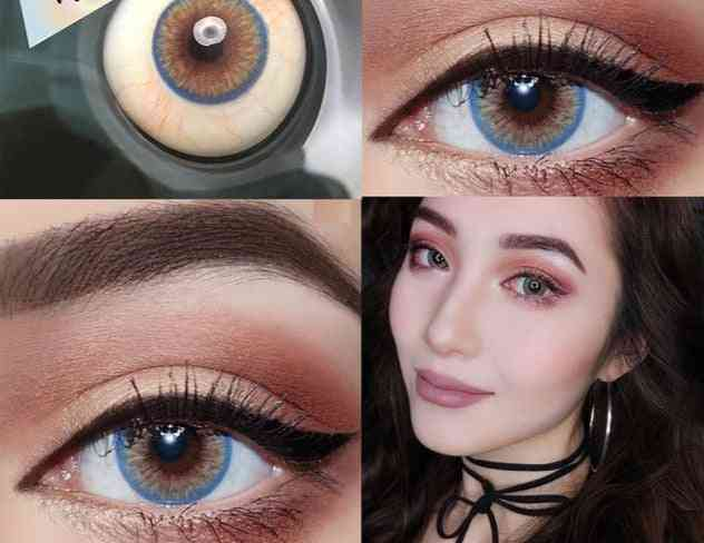 Colored Contact Lenses For Eye