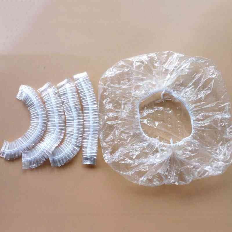 One-off Disposable Hotel Shower Bathing Elastic Caps, Hats