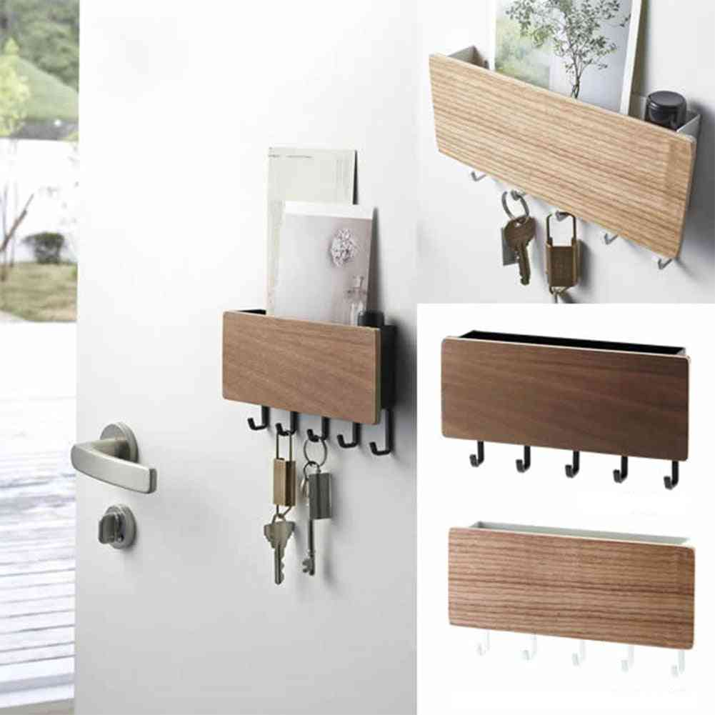 Decorative Simple And Small Wall Hooks - Space Saving, Key Hanger For Home