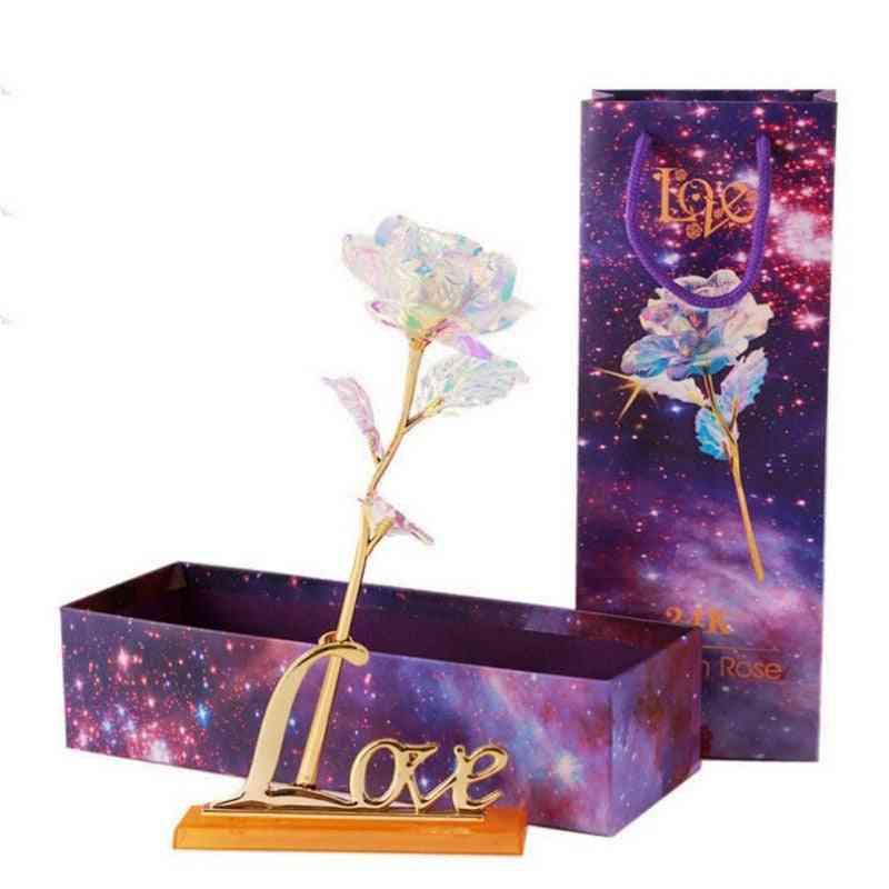 Valentine's Day Creative - Rose Gold Lasts Forever Love Wedding Decor Lover Lighting