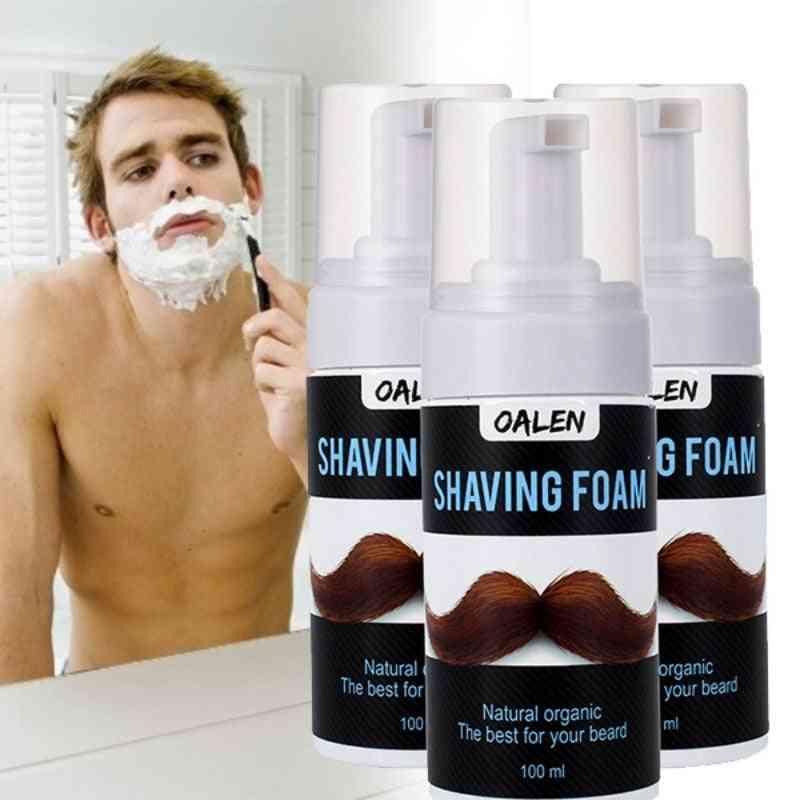 Men Shaving Foam, Salon Shave Beard Foam