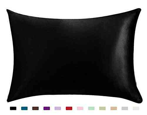 Silky Satin Hair Beauty Pillowcase - Standard And Queen Pillow Covers