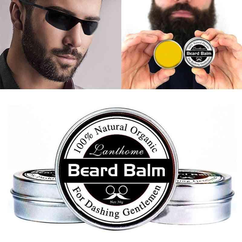 Natural Organic Beard Balm For Moisturizing, Repair Split Ends And Soften