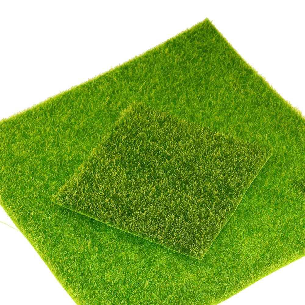 Diy Mini Fairy Garden Simulation Artificial Moss Lawn