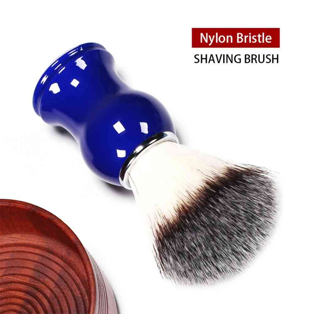 Natural Nylon Shaving Brush - Hair Straight Razor