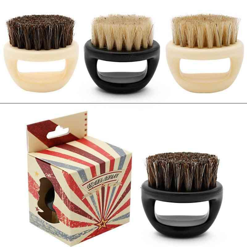 Wild Boar Fur-shaving Brush With Handle