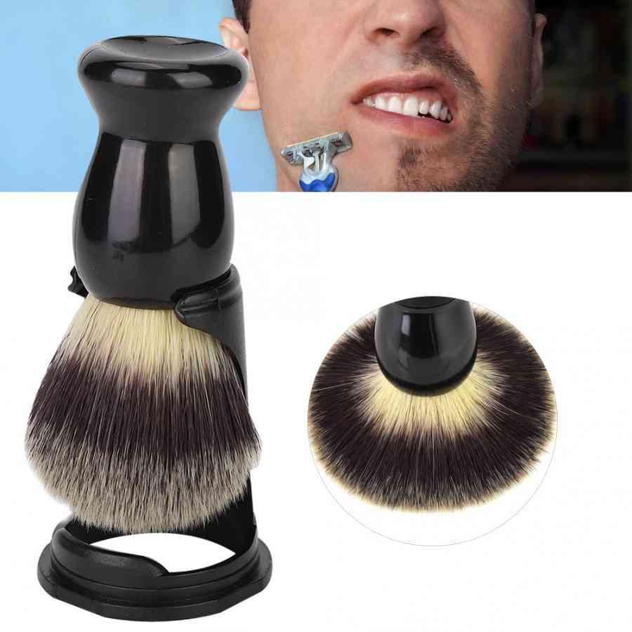 Professional Black Acrylic Shaving Brush Holder