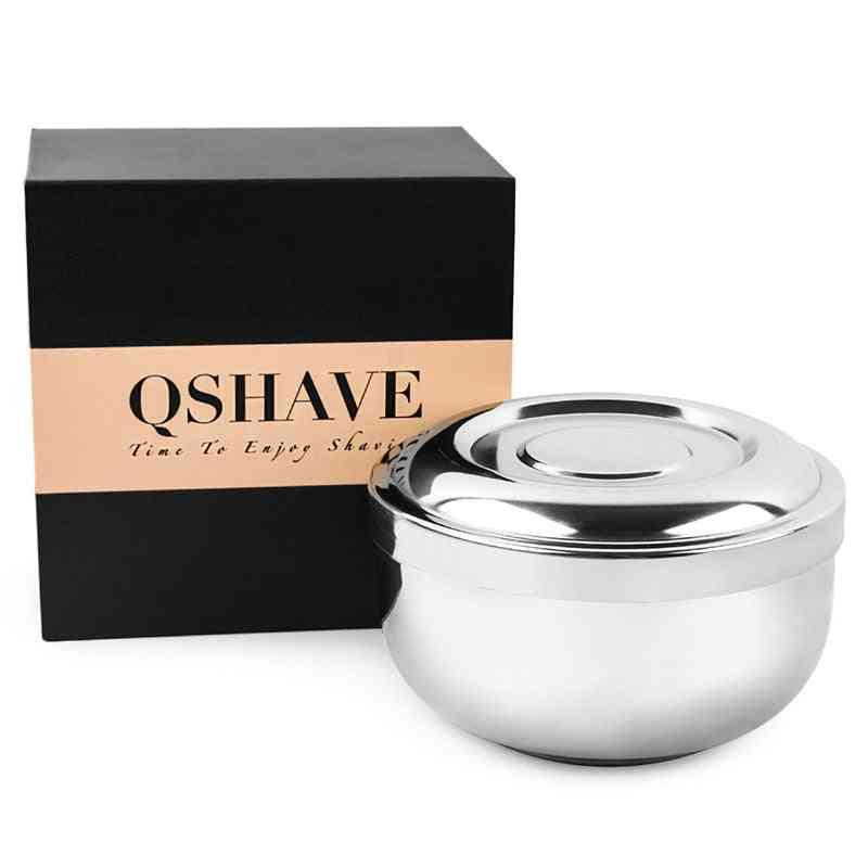 Stainless Steel Shaving Soap Bowl