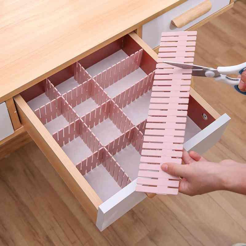 Adjustable Drawer Divider And Space Saver - Storage Shelves Grid