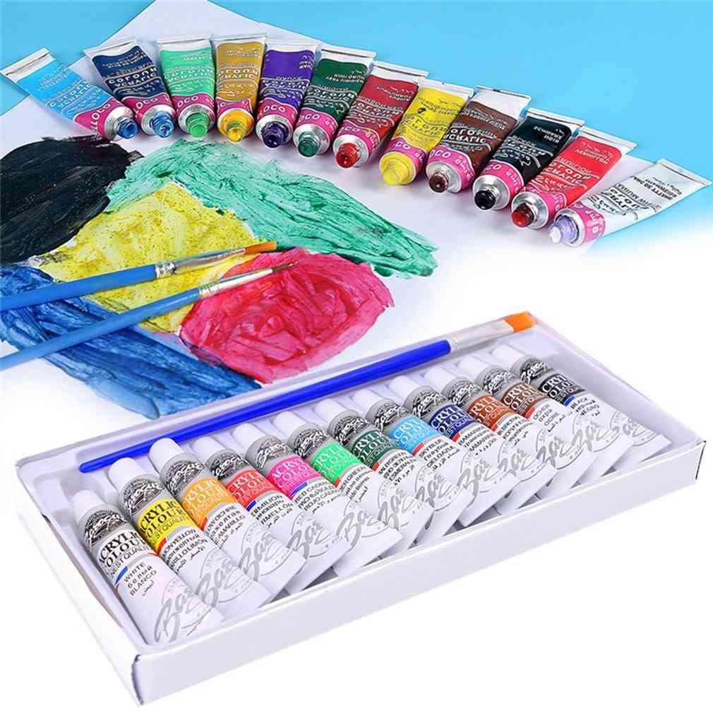 Professional Acrylic Hand Painted Paints Set