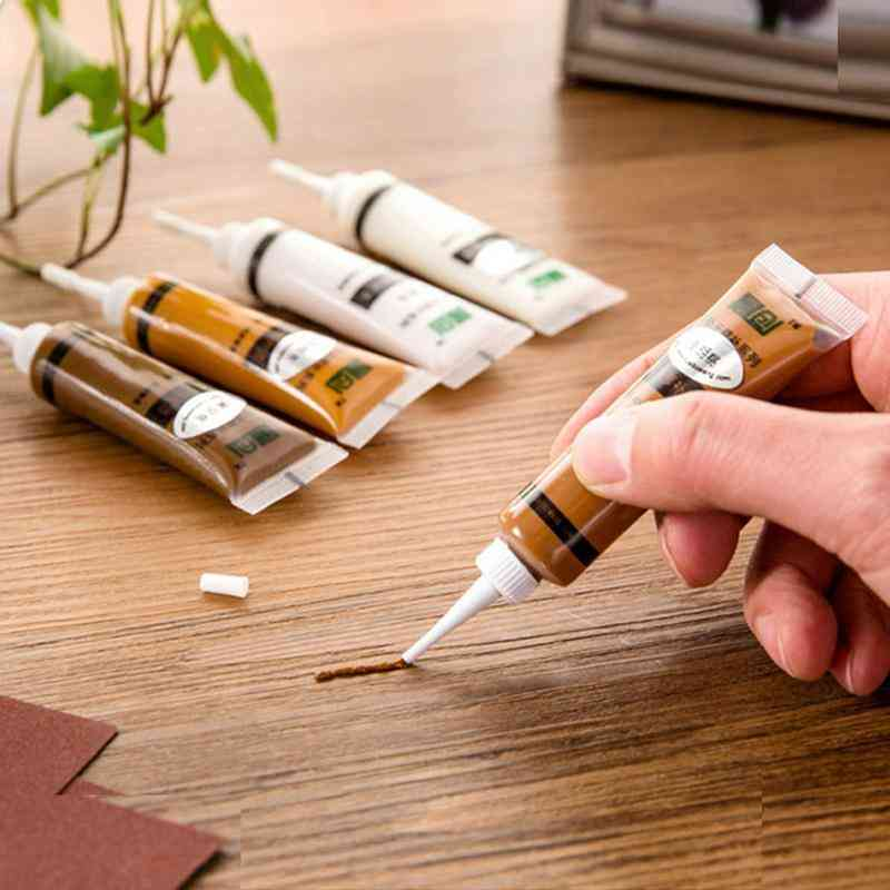 Furniture Repair/refinishing Paint - Solid Wooden Refinishing, Floor Furniture Scratch Fast Remover Repair Paint