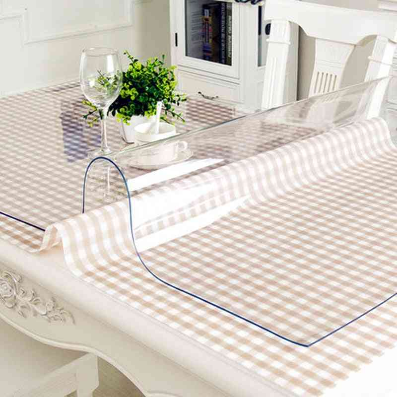 Waterproof And Durable Pvc Table Cover