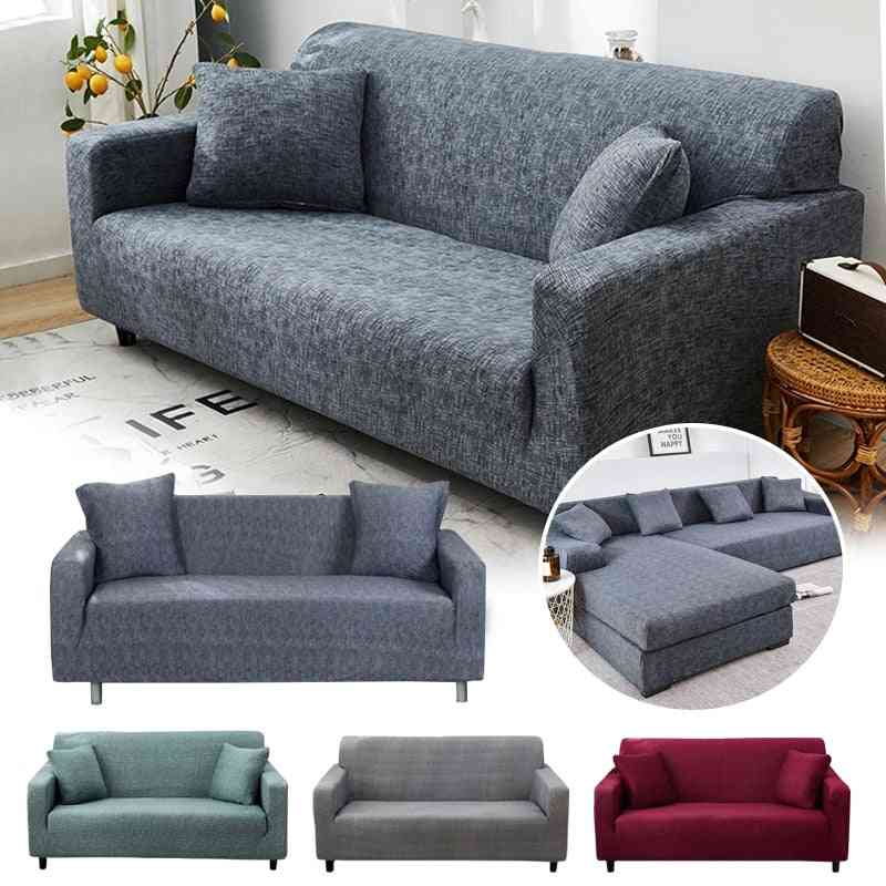 Cross Pattern Elastic Sofa Cover For Living Room, Couch Cover, Loveseat Sofa Slipcovers
