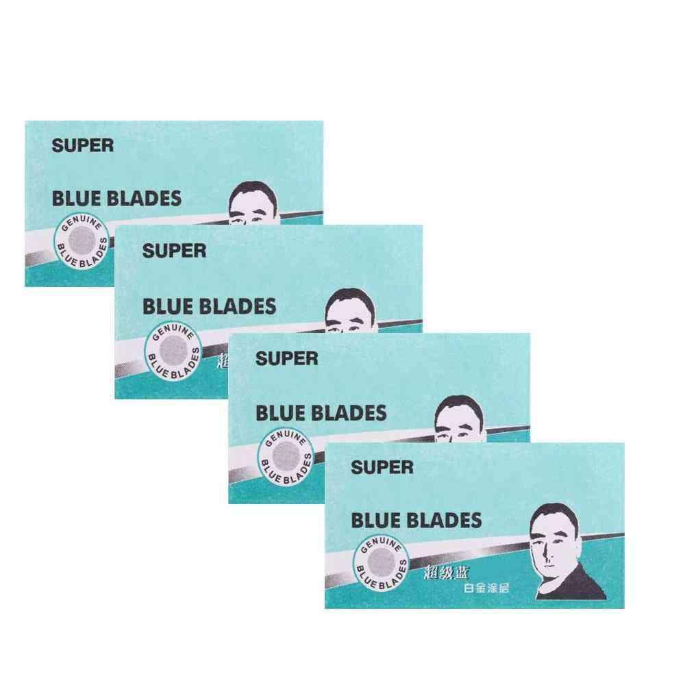 Double Edge Manual Shaving Razor Blades Face