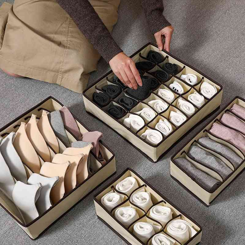 Foldable & Divider Storage Box-clothes Drawer Organizer