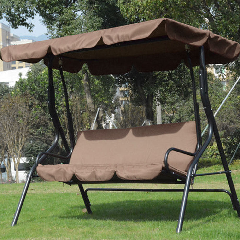Garden Swing Chair Cover-polyester, Waterproof And Uv Resistant