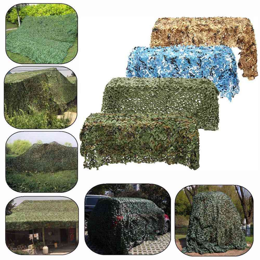 Military Print Camouflage Nets For Outdoor Camping