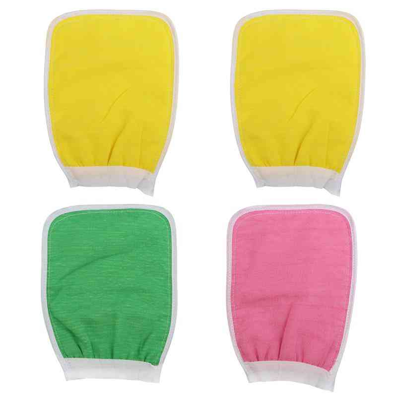 Scrub Glove Body Exfoliating Spa - Deep Cleansing Double Sided Glove