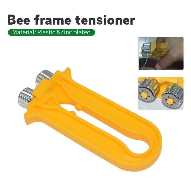 Beekeeping Bee Wire Cable Tensioner Crimper Frame Hive Bee Tool Nest Box Tight Yarn Wire Beehive Beekeeping Equipment