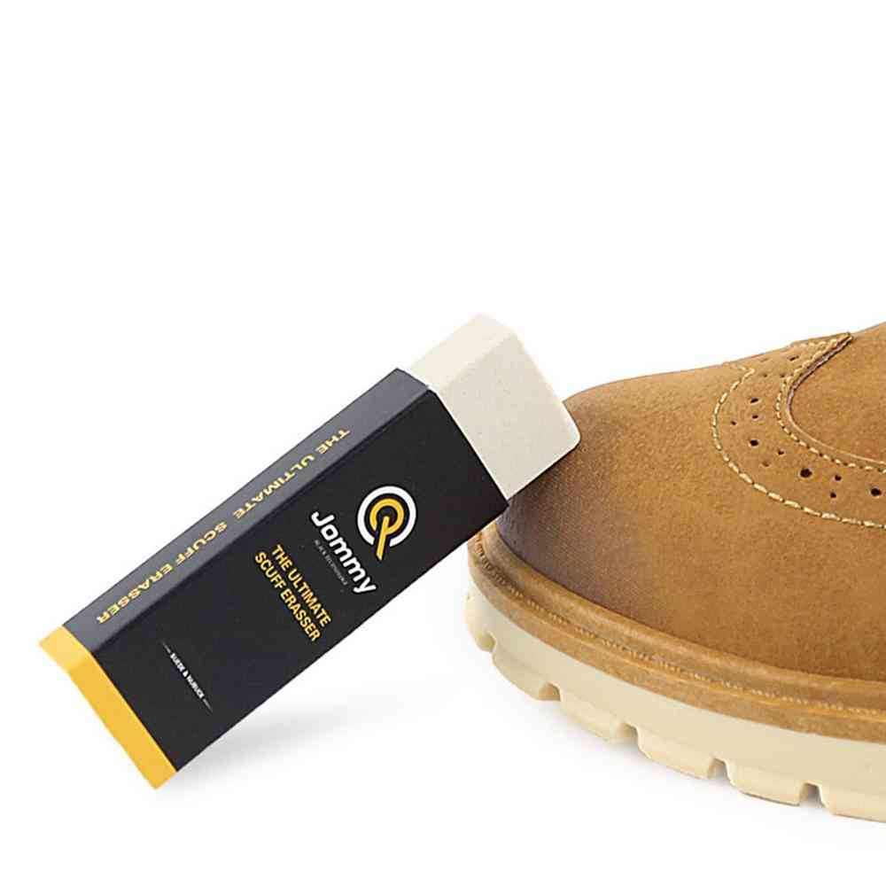 Clean Care Eraser, Rubber Block For Suede Leather Shoes, Boot