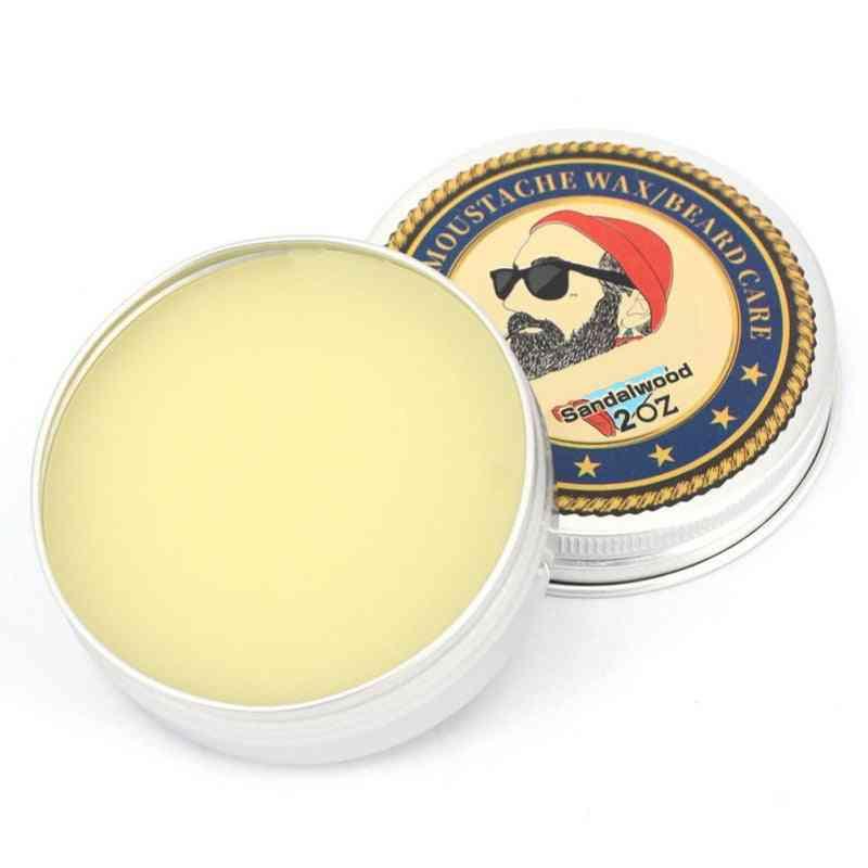 Men Beard Wax Leave Moisturizing Cream Lubricating