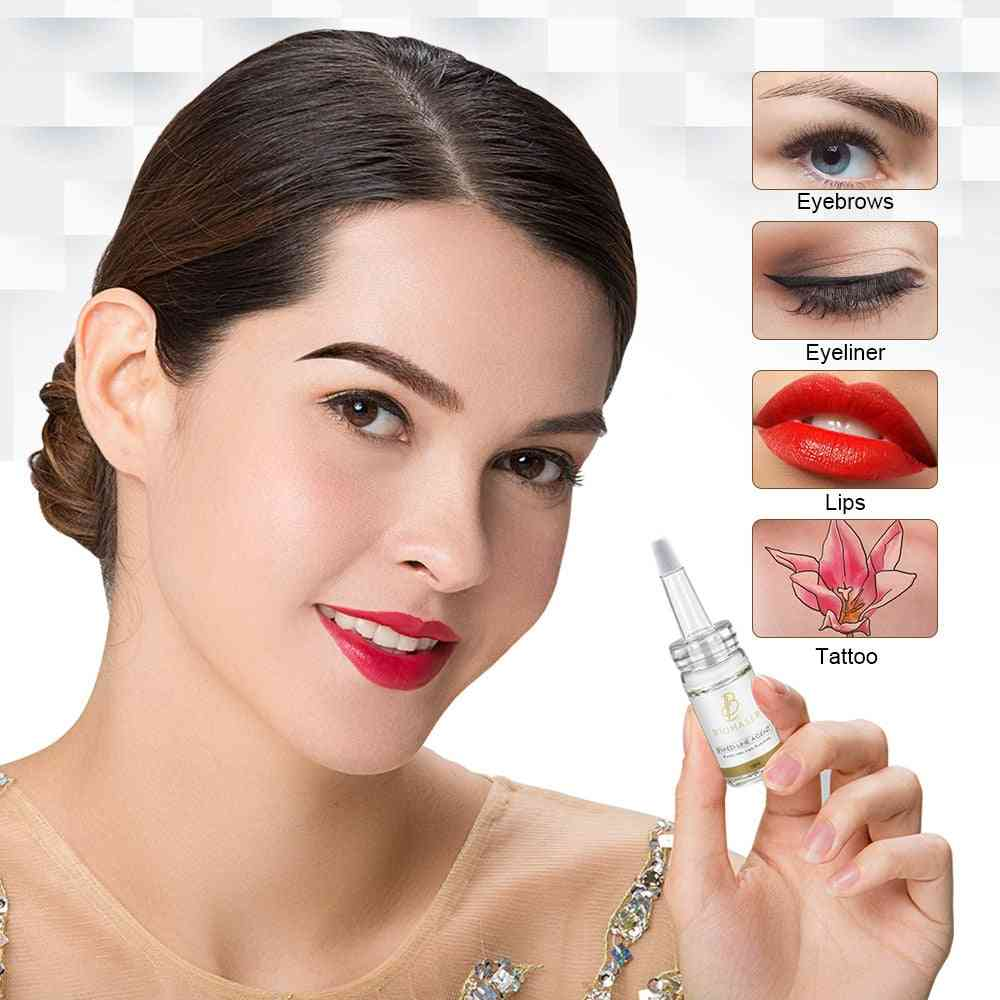Biomass Microblading Pigment Fixing Agent For Permanent Makeup Ink Color