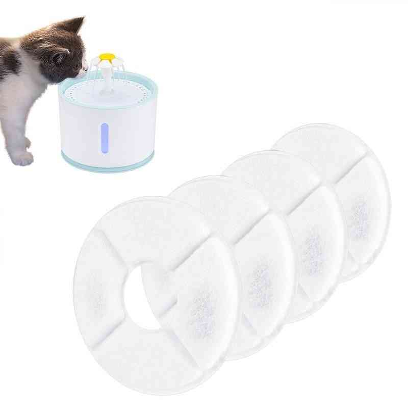 Activated Carbon Filter For Automatic Cat, Dog Feeder With Fountain Water