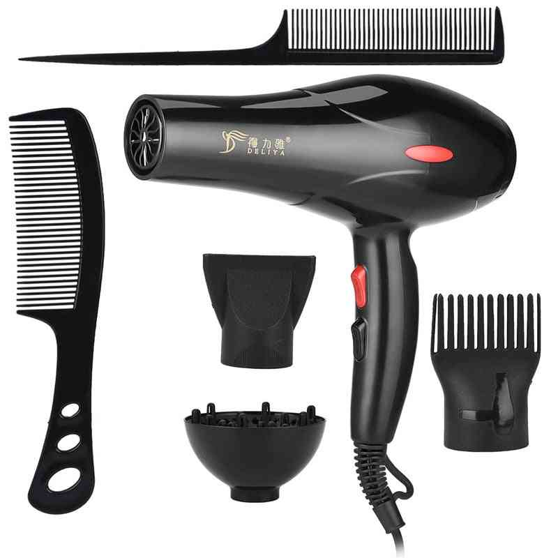 2200w Hair Dryer - High Power Dryer, Travel, Home Use Hot And Cold Air Hairdryer Hairdressing Styling