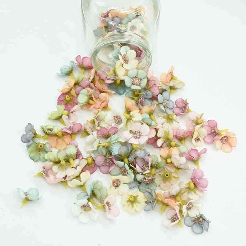 Multicolor, Mini Daisy-artificial Flower Head For Christmas And Home Decor