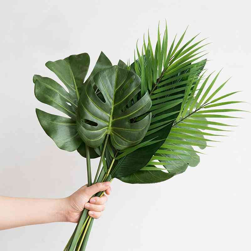 Tropical Palm Tree Leaves For Home Garden Decoration
