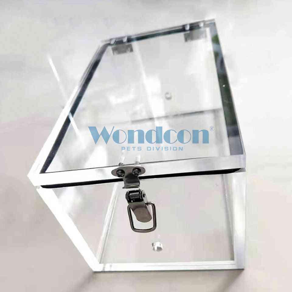 Wondcon Veterinary Animal Anesthesia Induction, Chamber Organic Glass Cat Dog Pets