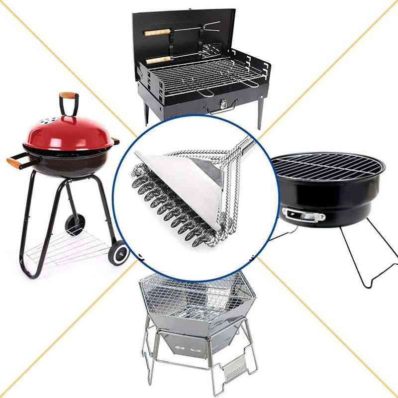 Grill Brush And Scraper, Best Bbq Cleaner, Perfect Tools For All Types