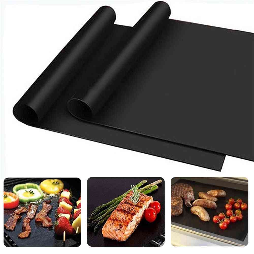 Non Stick, Easy To Clean-bbq Grill Mat