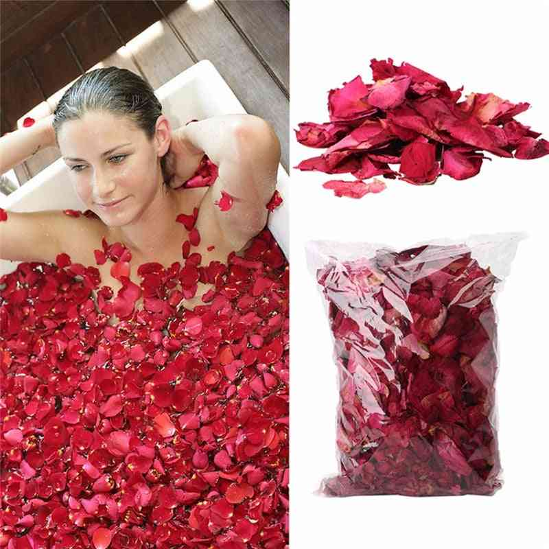 Dried Rose Flower Petals For Bath, Spa And Whitening Shower