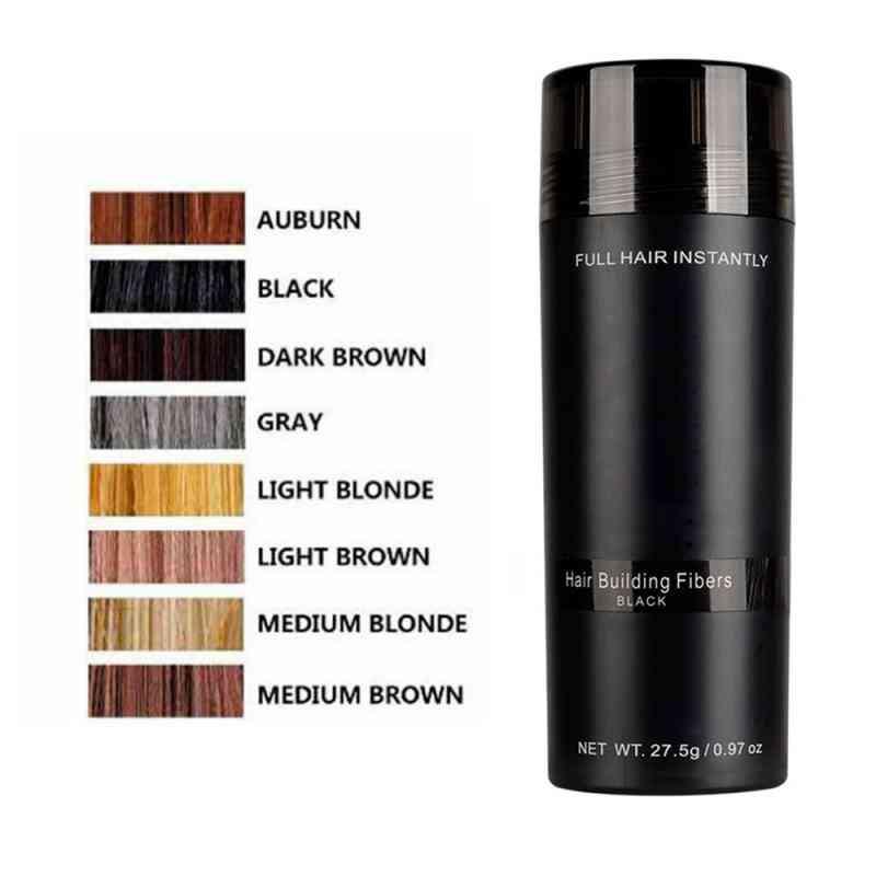Authentic Keratin Hair Loss Building Fibers, Applicator Spray, Hairline Optimizer