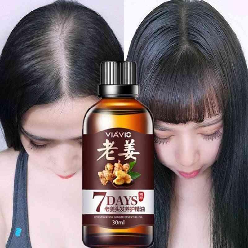 Magic Fast Hair Growth Dense Regrowth Ginger Serum Oil, Anti Loss Treatment Essence